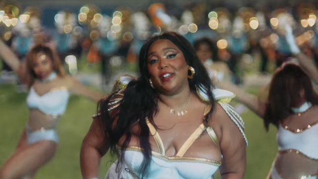 "Lizzo Takes a Page From Beyoncé's Book in ""Good As Hell"" Marching Band Video"