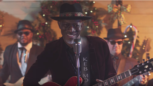 "Exclusive: Keb' Mo' Soundtracks a ""Merry Merry Christmas"" in Joyful New Music Video"