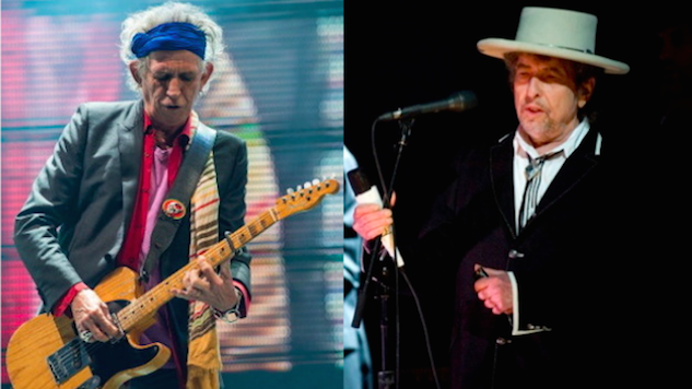 Celebrate Keith Richards' Birthday with His 1985 Performance Alongside Bob Dylan
