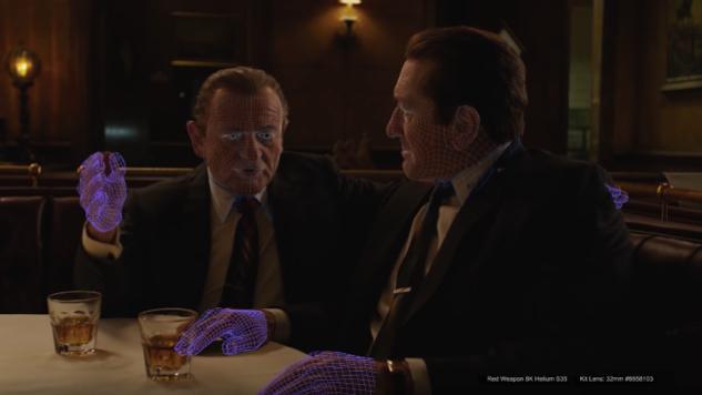 New Netflix Featurette Goes Behind the Scenes on <i>The Irishman</i>'s Groundbreaking De-Aging Technology