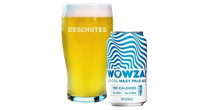 Deschutes Wowza Lo-Cal Hazy Pale Ale Review