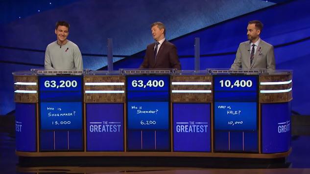 <i>Jeopardy!: The Greatest of All Time</i>: Game 1 Winner, Alex Trebek's Struggle