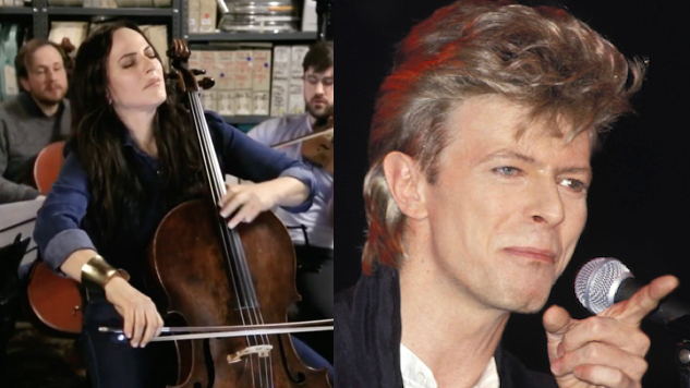 Watch Cellist Maya Beiser & A String Quartet Cover David Bowie in the <i>Paste</i> Studio