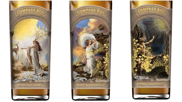 Compass Box Myths & Legends (1, 2 and 3) Single Malt Scotch Tasting