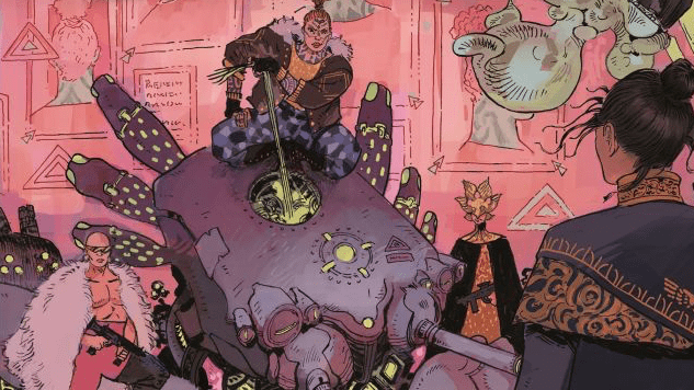 An Explosion Rocks a City in These Exclusive <i>Tartarus</i> #1 Pages