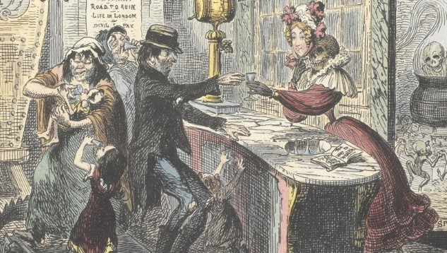 The Gin Craze: When 18th Century London Tried to Drink Itself to Death