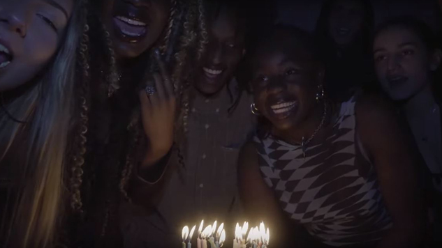 "Klein Celebrates Her Birthday in ""Claim It"" Video"