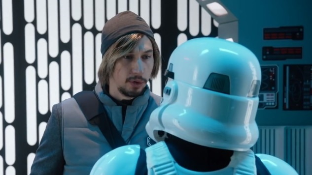 Kylo Ren Revisits Undercover Boss on <i>Saturday Night Live</i>