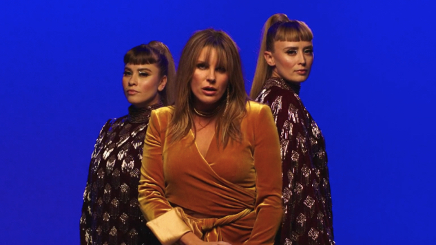 "Grace Potter and Lucius Channel '70s Girl Groups in ""Back To Me"" Video"