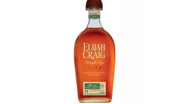 Elijah Craig Straight Rye Whiskey Review