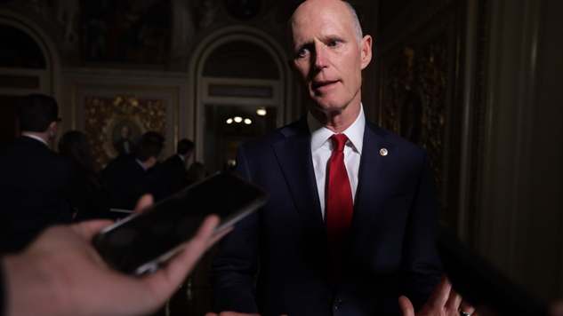 "Rick Scott's Dismissive ""Hostage"" Video Is Sad"
