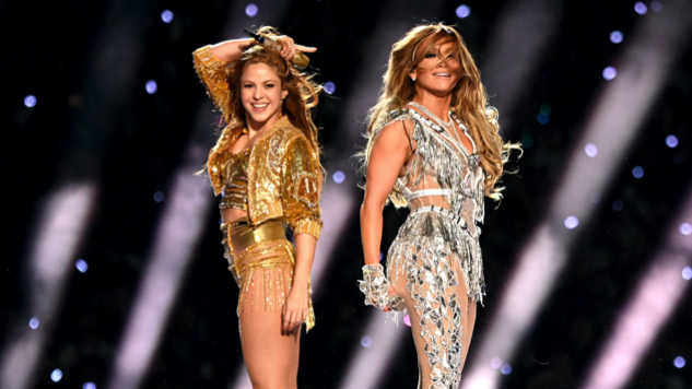 Watch: Shakira and Jennifer Lopez Dazzle in Super Bowl's First All-Latin Halftime Show