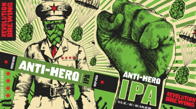 My Month of Flagships: Revolution Brewing Anti-Hero IPA