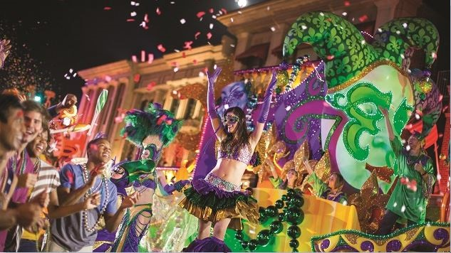 Universal Studios' Mardi Gras Celebration Is Bigger Than Ever