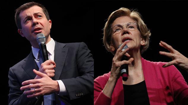 Elizabeth Warren's Campaign Calls Out Pete Buttigieg's Campaign for Potentially Coordinating with Super PAC