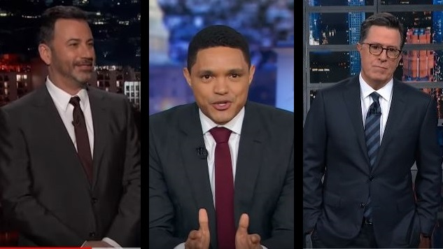 How Late Night Covered Trump's State of the Union Address