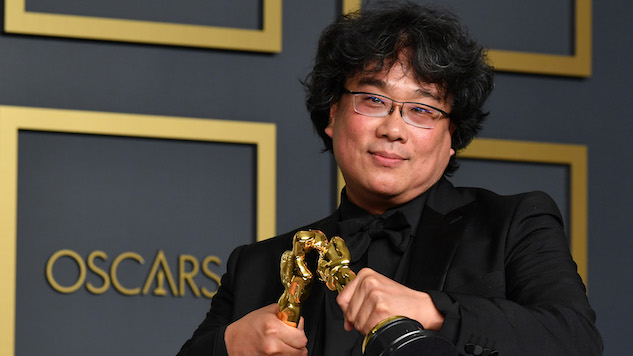 <i>Parasite</i> Is the First Non-English-Language Film to Win Best Picture