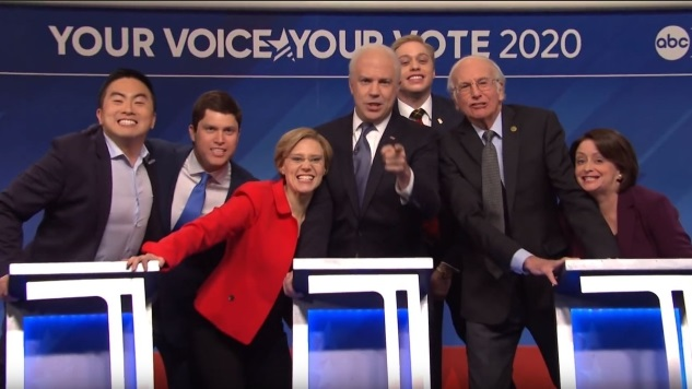 Here's the Obligatory <i>Saturday Night Live</i> Sketch about the Democratic Debate in New Hampshire