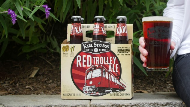 My Month of Flagships: Karl Strauss Brewing Co. Red Trolley Ale