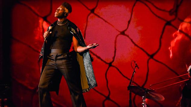 "Watch Moses Sumney Perform ""Cut Me"" on <i>Colbert</i>"
