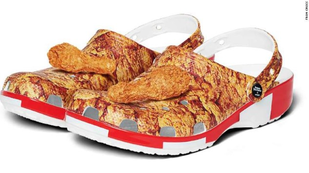 Now KFC Is Making Fried Chicken Crocs Because Sure, Why Not