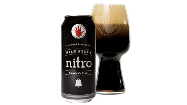 My Month of Flagships: Left Hand Brewing Co. Milk Stout Nitro