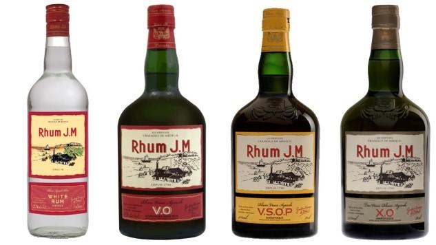 Rhum J.M: Tasting a Four Agricole Rum Lineup