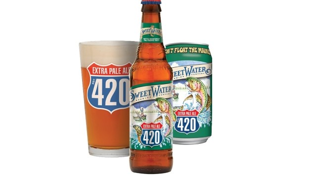 My Month of Flagships: SweetWater Brewing Co. 420 Extra Pale Ale