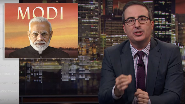 Watch John Oliver Compare and Contrast Trump's Presidency to Narendra Modi's India