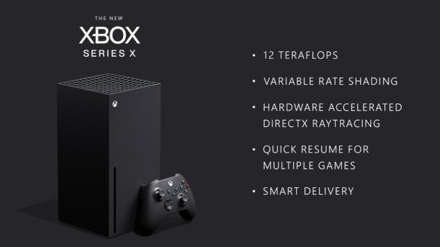 Microsoft Reveals Xbox Series X Specs