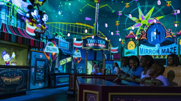 Mickey & Minnie's Runaway Railway Brings a Jolt of Irreverent Energy to Disney World