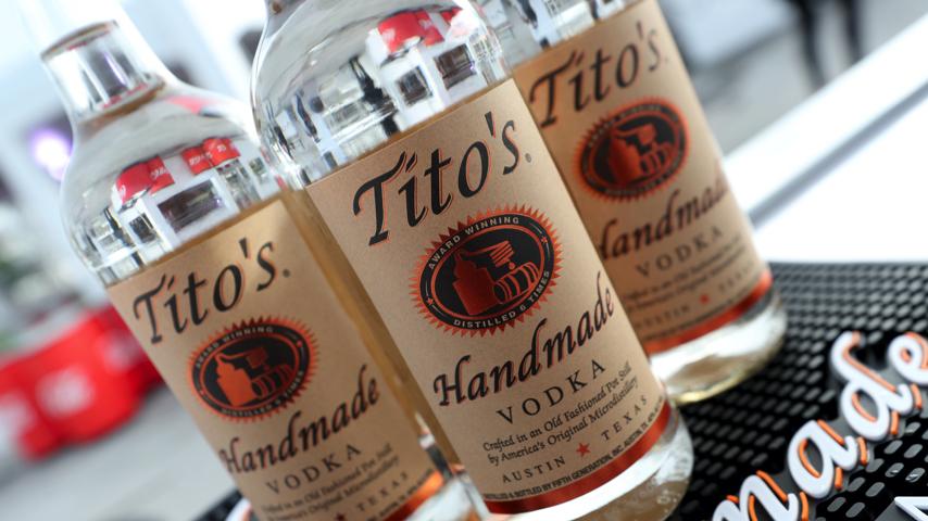 Tito's Vodka Isn't a Hand Sanitizer Substitute, Warns Tito's Vodka