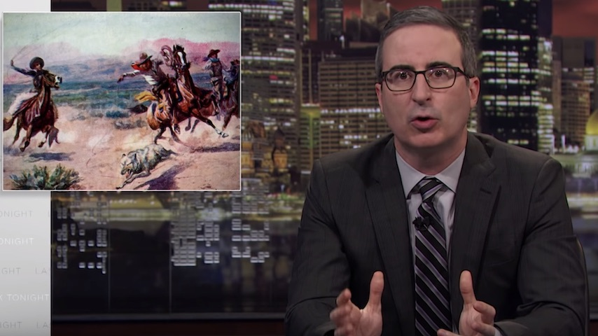 Watch John Oliver Discuss Sheriff Elections in the Latest Episode of <i>Last Week Tonight</i>