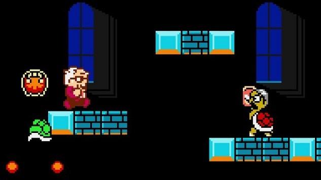 Bernie Sanders Stars in His Own Super Mario-Style Videogame