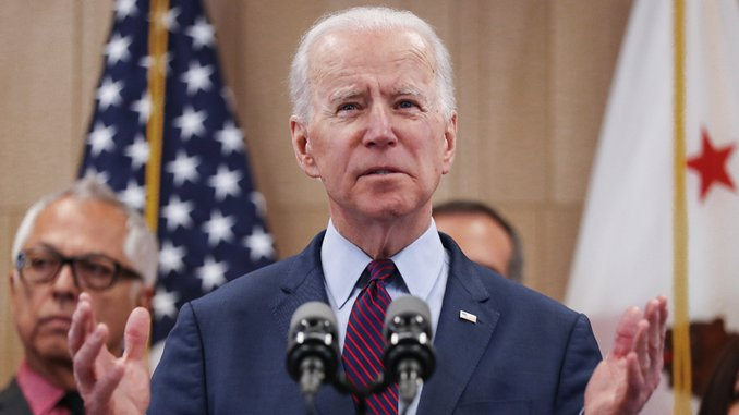 Joe Biden Says He Would Veto a Medicare-for-All Bill as President
