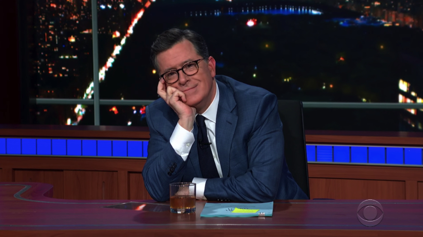 Watch Stephen Colbert Get Laughs Without an Audience on a Coronavirus-Free <i>Late Show</i>