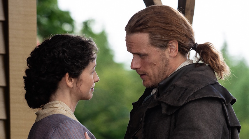Watch: <i>Outlander</i> Goes Back to the Future in an Episode Filled with Long Talks