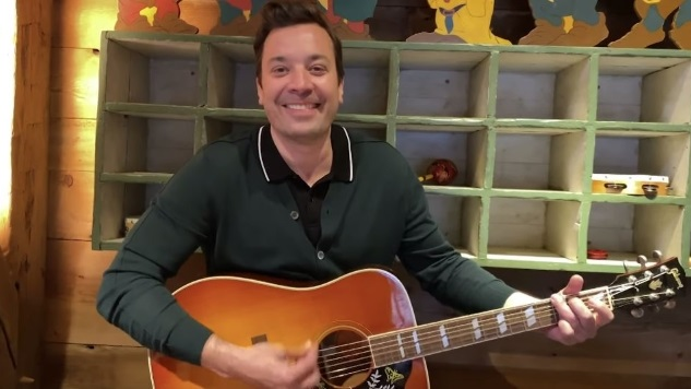 Jimmy Fallon and Jimmy Kimmel Record Monologues at Home for their YouTube Pages