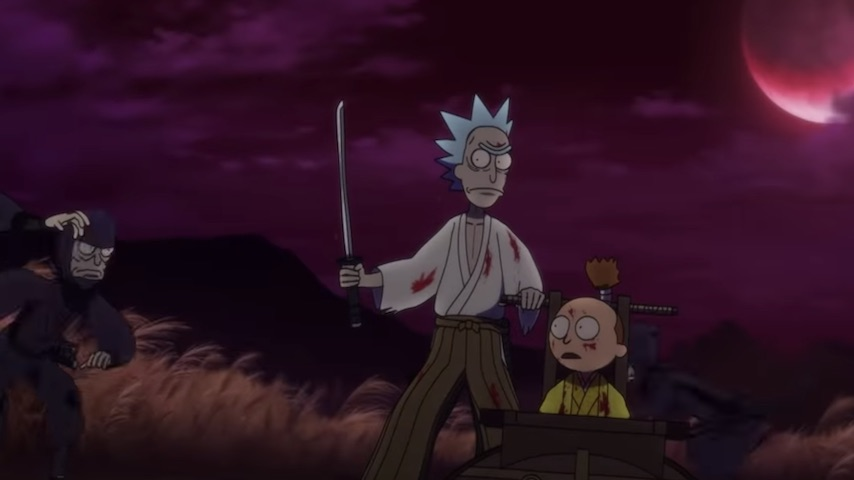 Watch: Adult Swim Quietly Releases Explosive New <i>Rick and Morty</i> Short Film
