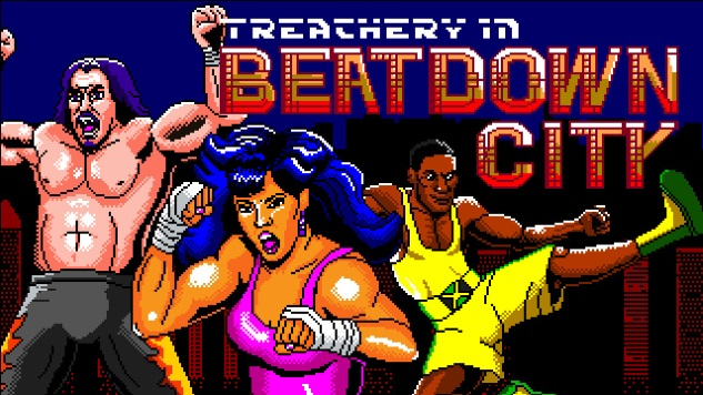 Get Equipped With Righteous Violence in <I>Treachery in Beatdown City</I>