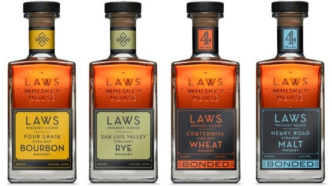 Tasting 4 Whiskeys From Laws Whiskey House