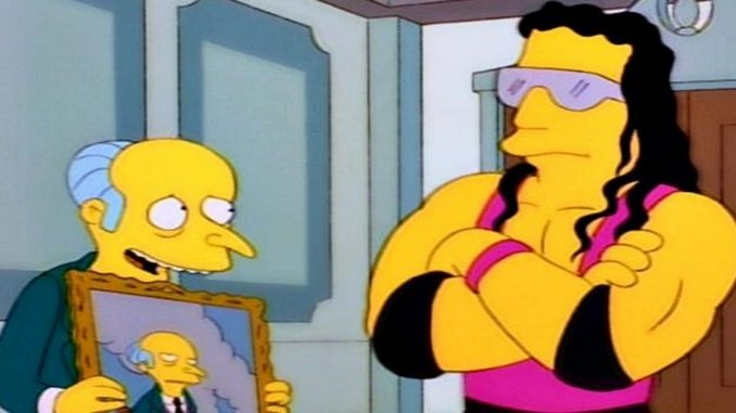 "Bret ""The Hitman"" Hart Wants Us to Know that We Shouldn't Feel Sorry for Mr. Burns"
