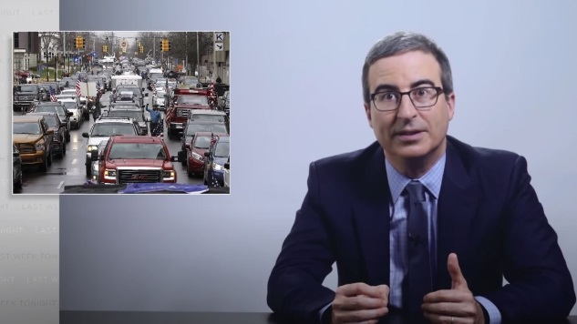 John Oliver Looks at the Right-Wing Media's Coronavirus Lies