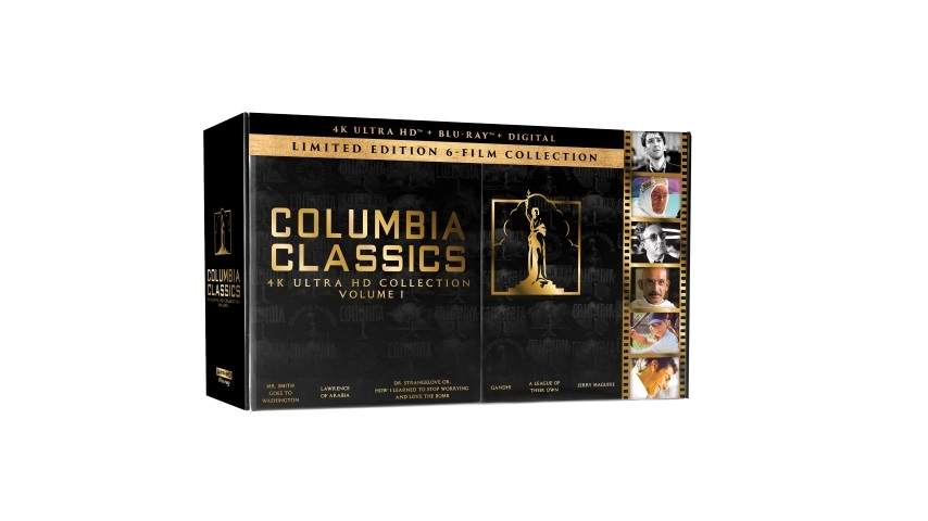 Kubrick, Capra, Lean and Cruise Classics Come to 4K in the Columbia Classics 4K Ultra HD Collection
