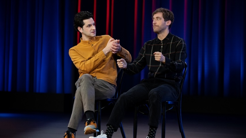 Middleditch and Schwartz Bring Long Form Improv Into Your Living Room