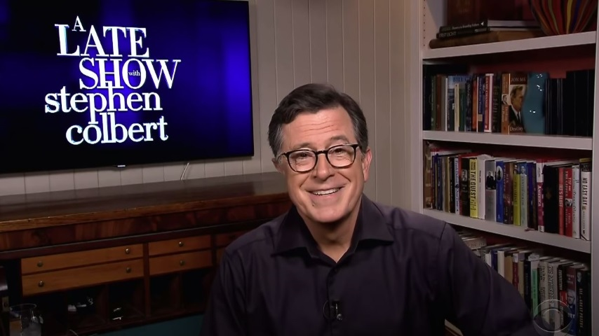 Stephen Colbert Looks at Trump Changing Immigration Policy via Tweet and the Cancellation of Oktoberfest