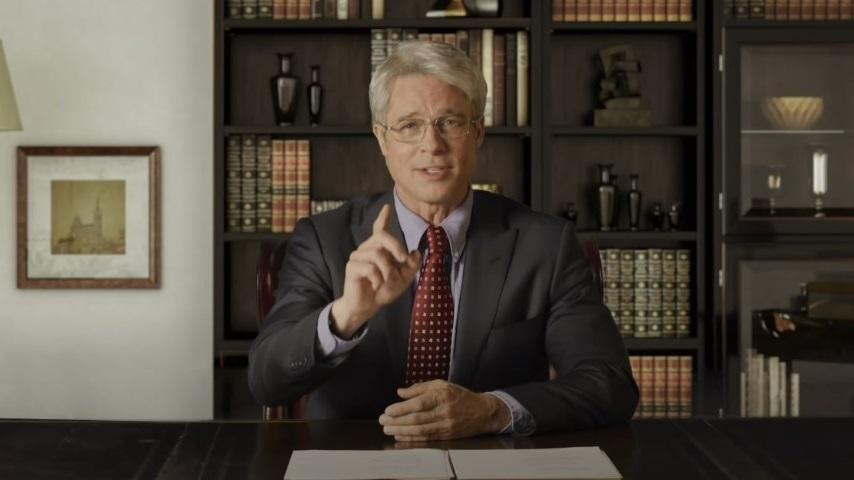 Watch Brad Pitt Play Dr. Fauci on <i>Saturday Night Live</i>