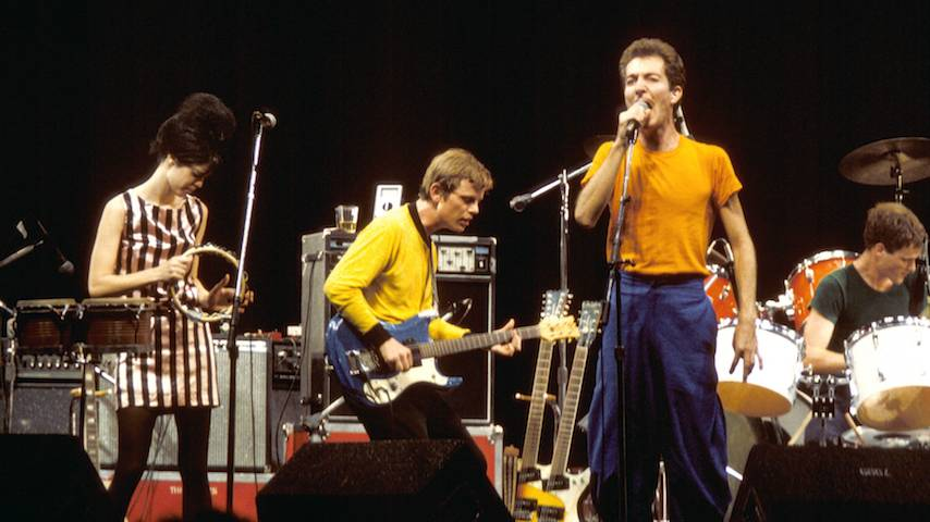 """Hear The B-52's Perform """"Big Bird"""" From <i>Whammy!</i>, Released On This Day in 1983"""