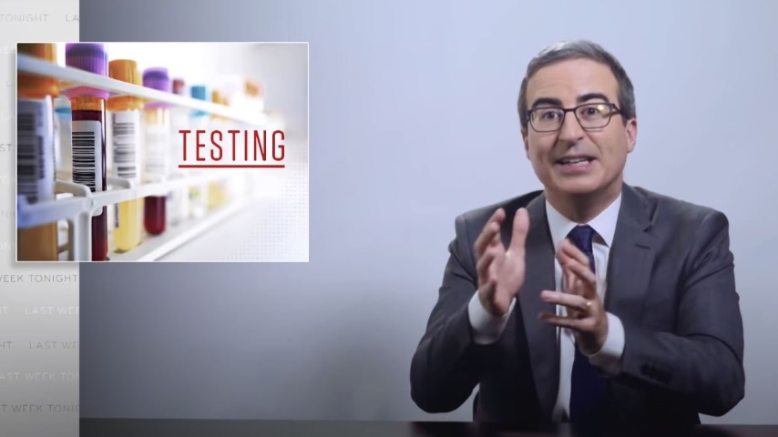 John Oliver Looks at America's Failures with Coronavirus Testing