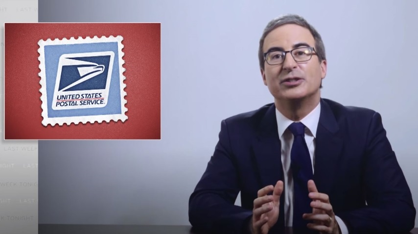 John Oliver Looks at the USPS and Why the Government Is Letting It Die